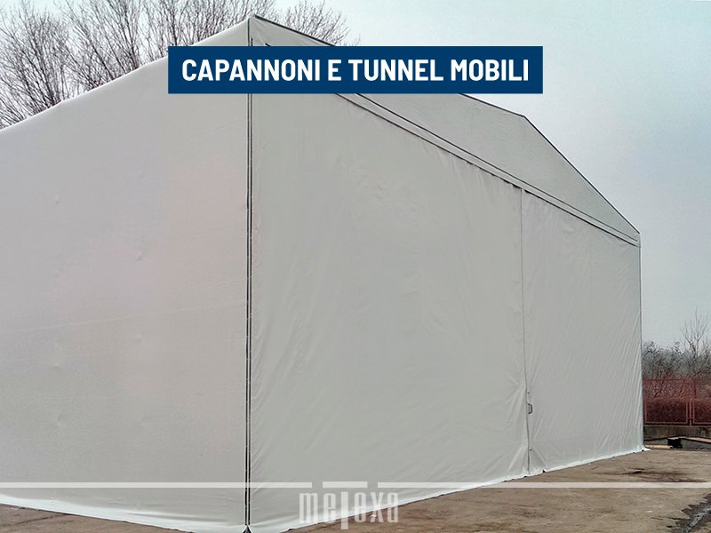 capannoni tunnel in pvc metexa
