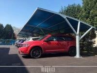 pensiline auto per parcheggi aziendali