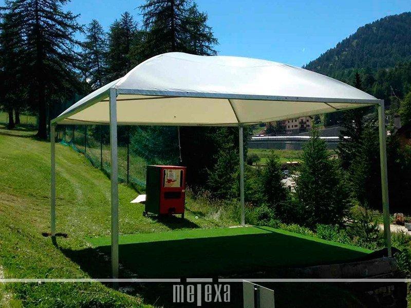 Coperture esterne per auto da giardino pensiline tettoie auto metexa