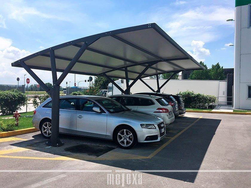 tettoie pensiline parcheggio auto