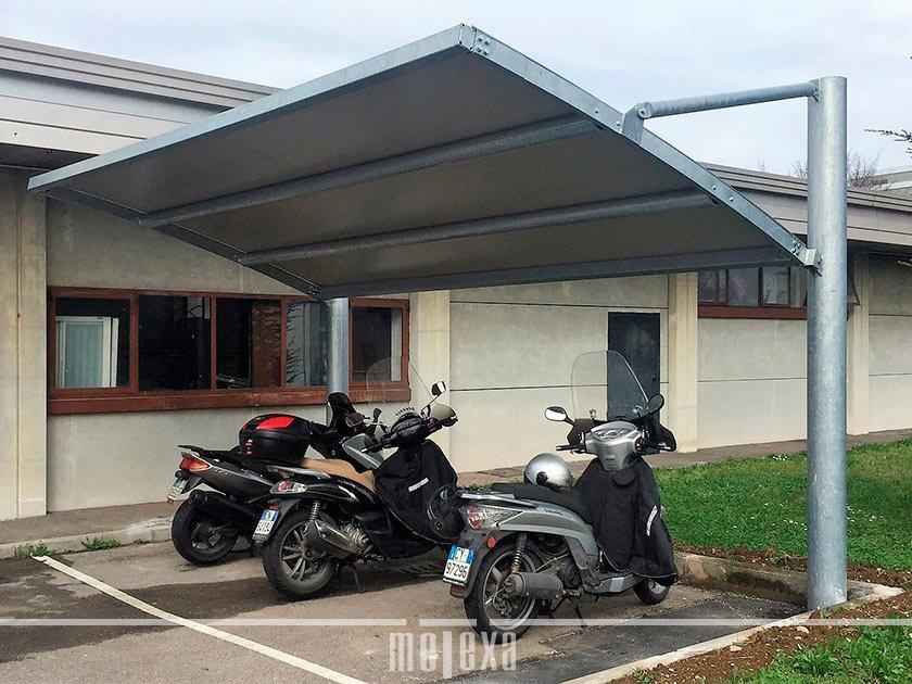 tettoie per motocicli