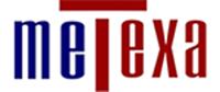 Metexa: tettoie per auto, coperture per parcheggi e tensostrutture Logo