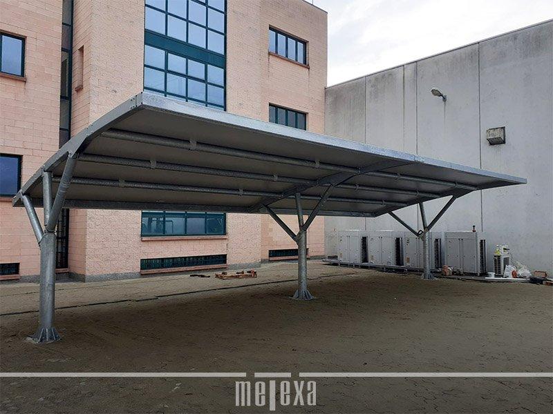 carport ferro per auto