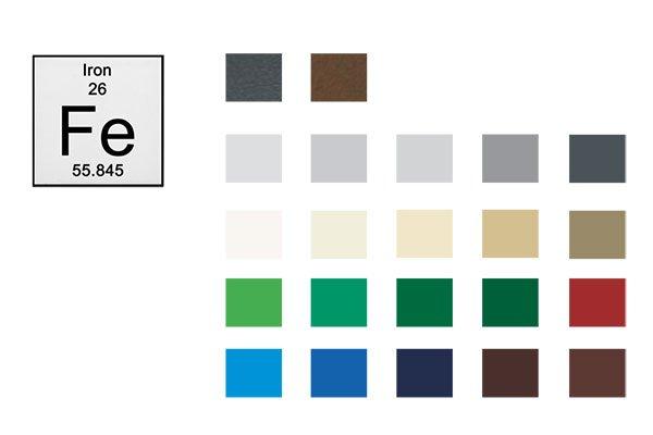 colori struttura tettoia per auto Ibrid