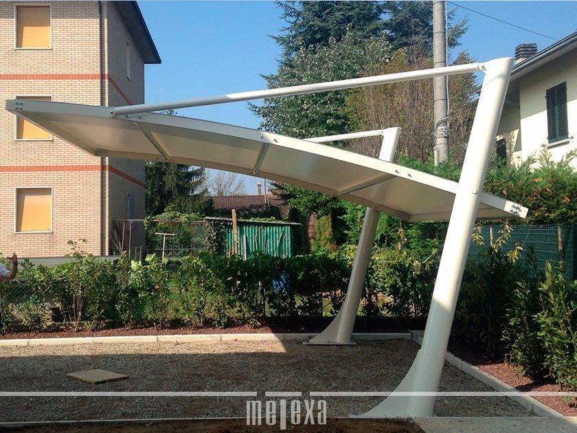 tettoie per parcheggi esterni