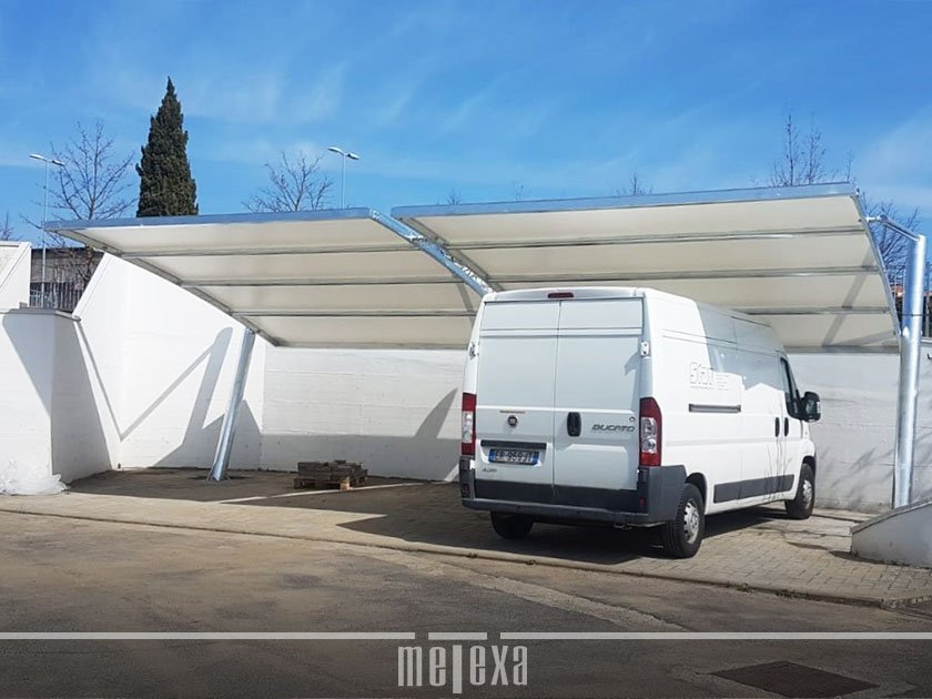 coperture per parcheggi aziendali