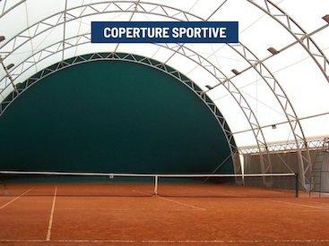 coperture tensostrutture sportive