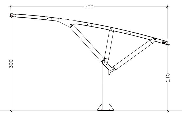 disegno tecnico coperture auto mx19st