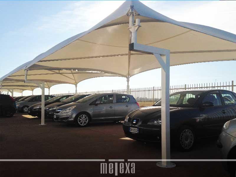 gazebi per concessionari auto