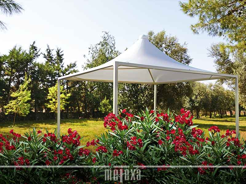 Gazebo in PVC GZ22