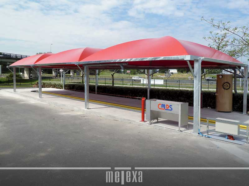 Gazebo in ferro e pvc GZ45