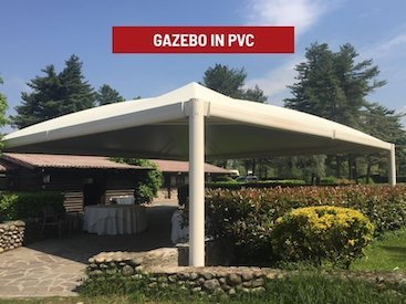 Gazebo in pvc professionali