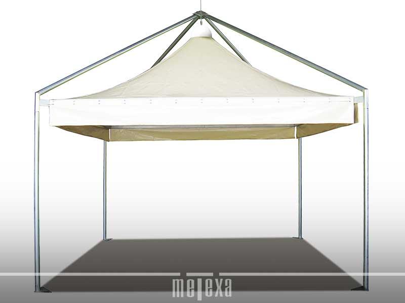 gazebo pagoda zincato 5x5