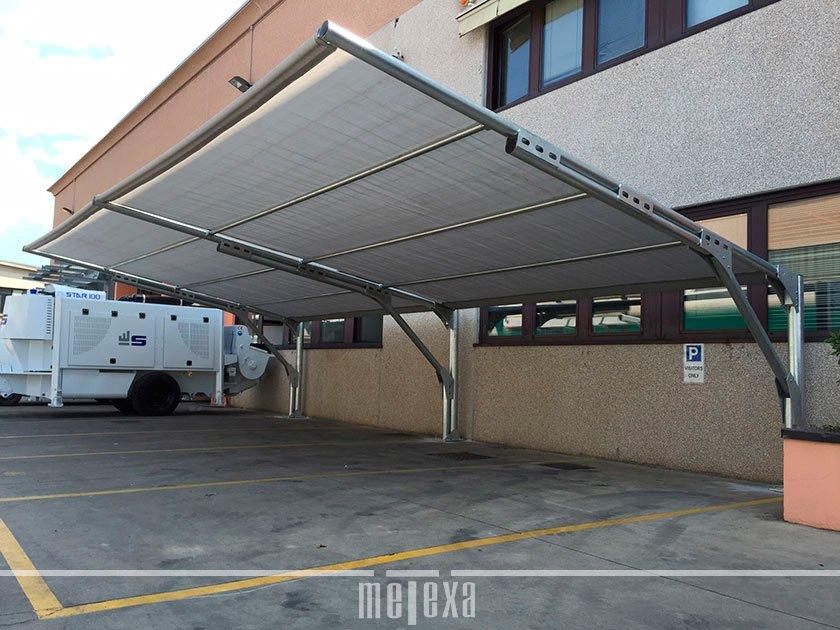 coperture auto antigrandine parcheggi aziendali