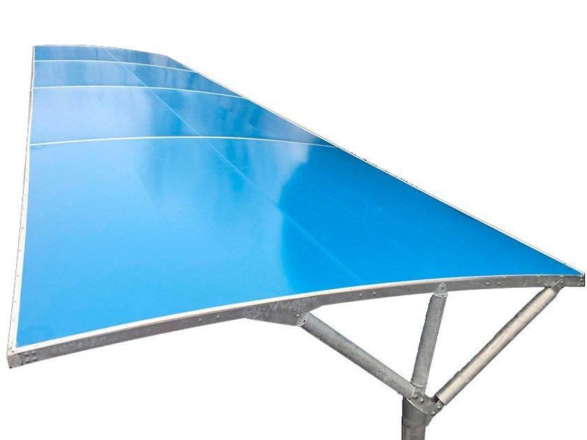 tettoie auto fotovoltaiche