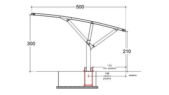 misure pensiline per auto MX19