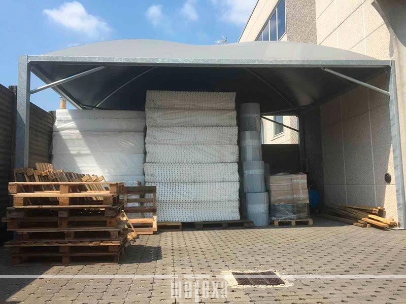 tensostrutture industriali e tendocoperture stoccaggio merci