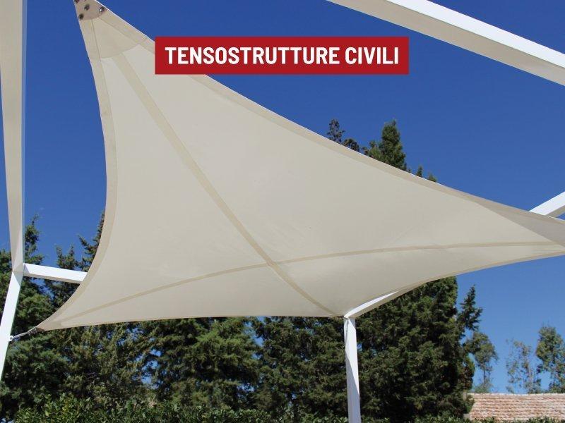tensostrutture civili