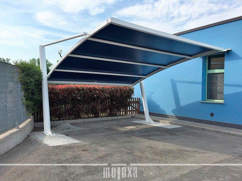 tettoie per auto da giardino
