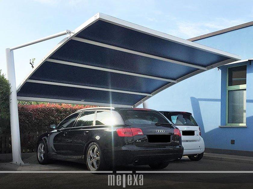 tettoie auto modulari