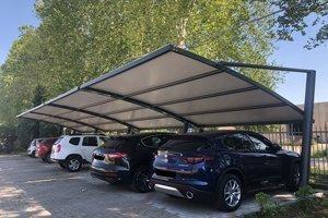 tettoie parcheggio auto