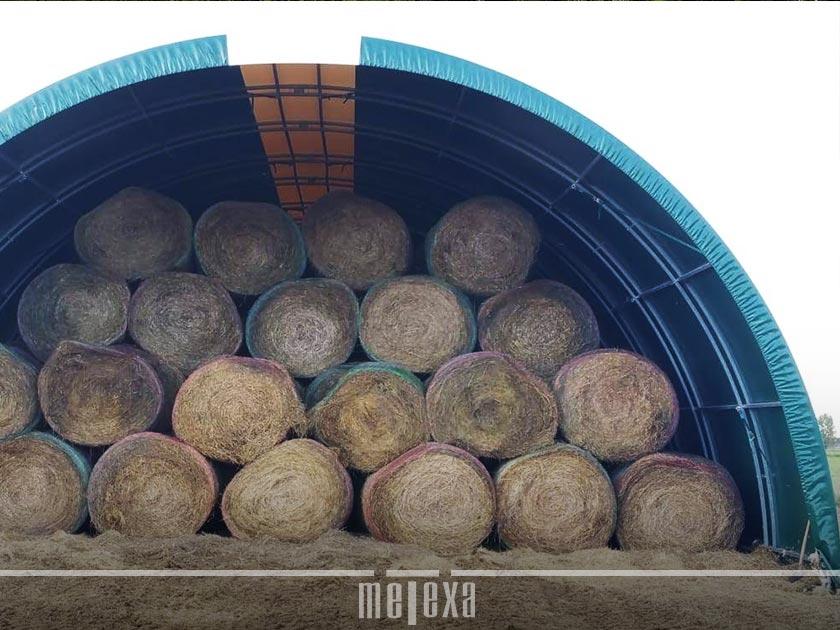 tunnel agricoli per fieno
