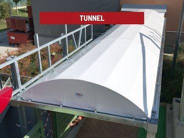 tunnel di copertura