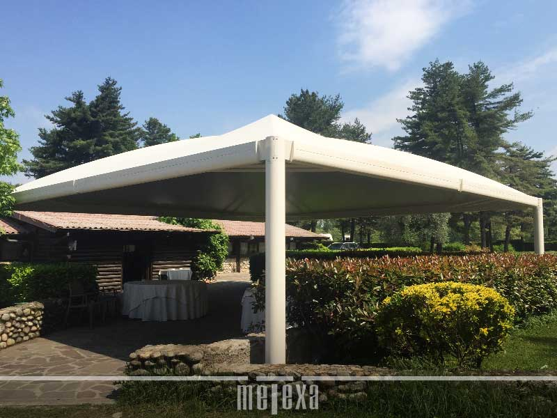 Gazebo professionale in pvc GZ40