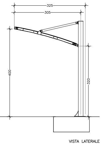 struttura copertura camper
